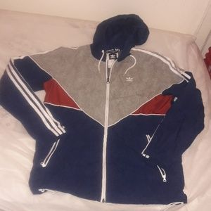 Adidas men hoodie size small